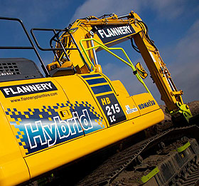 Komatsu Hybrid Excavator