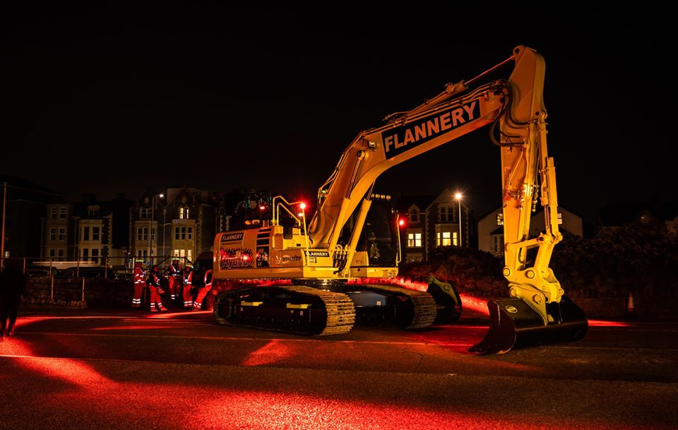 Flannery Excavator with FHOSS Safety System