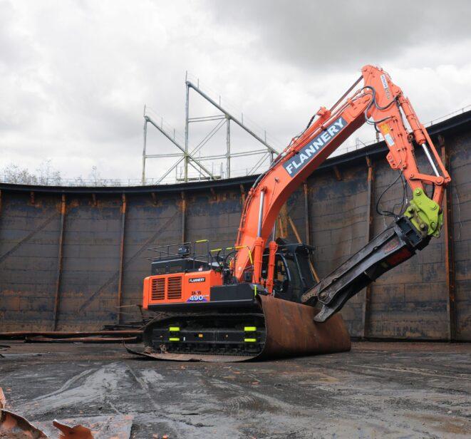Flannery Demolition Machine